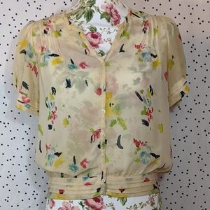 Pins and Needles Blouse - Size S/P